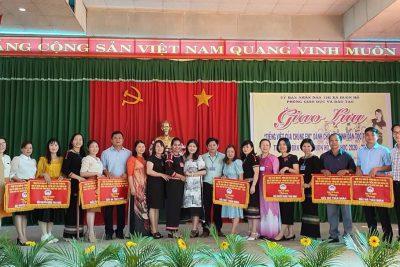 Giao lưu Tiếng Việt của chúng em – Sân chơi bổ ích dành cho học sinh dân tộc thiểu số trên địa bàn thị xã Buôn Hồ